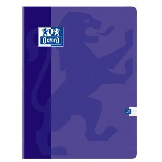 OXFORD Cahier 140 Pages 24x32cm VIOLET   Achat / Vente CAHIER OXFORD