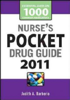 Nurse`s Pocket Drug Guide 2011 (Paperback)