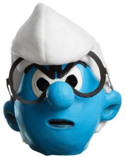 Smurfs Movie Brainy Mask,One Size: Clothing