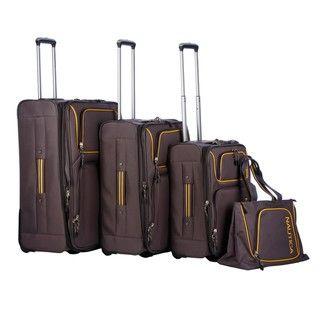 Nautica Steward 4 piece Luggage Set