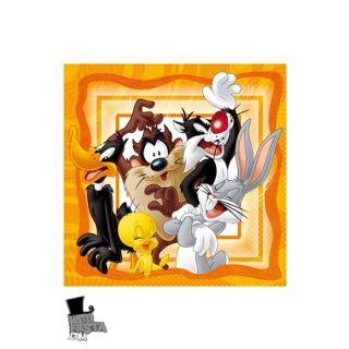 20 Serviettes   Looney Tunes   Achat / Vente LINGE DE TABLE JETABLE 20