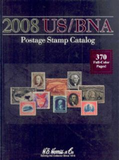 2008 Us/ Bna Postage Stamp Catalog