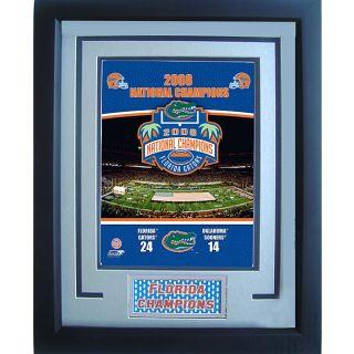 Florida Gators 11x14 2008 Champions Sports Plaque