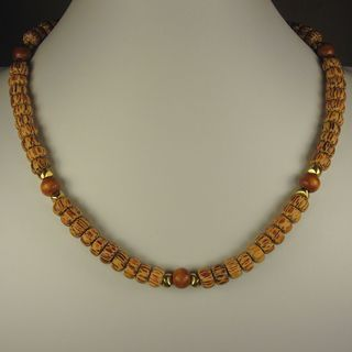 Jewelry by Dawn Brown Palmwood Mens Necklace