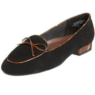 Annie Shoes Womens Missy Flat,Black Brushed,7 M US: Shoes