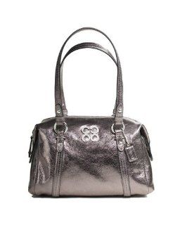 Coach Julia Leather Small Bag 44074 (SV/Gunmetal) Shoes