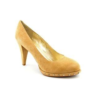 Mojo Moxy Womens Barbie Regular Suede Dress Shoes (Size 10