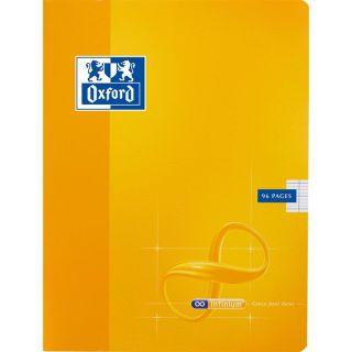 OXFORD Cahier 96 Pages 17x22cm JAUNE   Achat / Vente CAHIER OXFORD