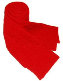 Polo Ralph Lauren Rugby Cashmere Wool Mens Scarf Red