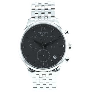 Tissot Mens Tradition Stainless Steel Bracelet Chronograph Watch