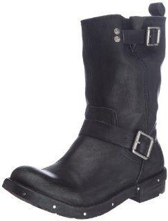 CK Jeans Mens Drew Boot,Black,47.5 EU/13 M US Shoes