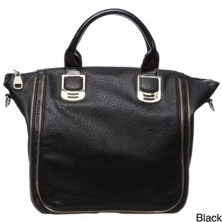 Steve Madden Bgambit Zipper Trim Satchel Bag