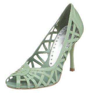 BCBGirls Womens Doble Bird Cage Pump,Golf Green,6 M Shoes