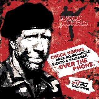 Chuck Norris 2011 Wall Calendar