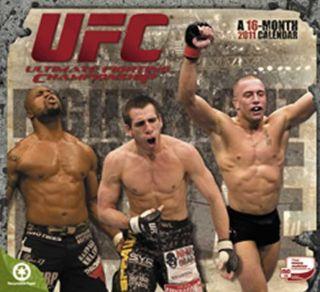 UFC 2011 Wall Calendar