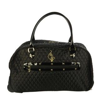 Baby Phat Madison 20 inch Carry on Rolling Duffel Bag