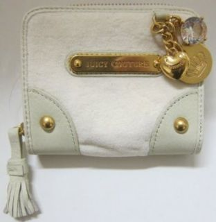 Juicy Couture Zip Around Velour Charms French Wallet