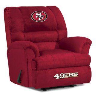 San Francisco 49ers NFL Big Daddy Recliner By Baseline