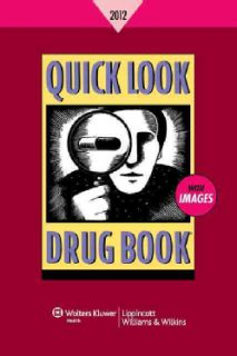 Quick Look Drug Book 2012 (Paperback)