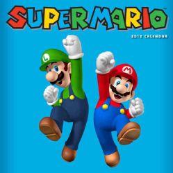 Super Mario Brothers 2012 Calendar (Mixed media product)