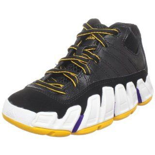 Kid/Big Kid),Black/Running White/Collegiate Gold,1 M US Big Kid Shoes