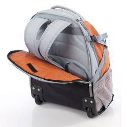 Wenger Swiss Gear Rust 20 inch Rolling Carry On Backpack