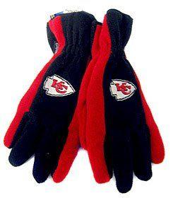 Kansas City Chiefs Fleece Gloves