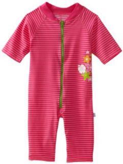 i play. Unisex baby Infant One Piece Stripe Sunsuit