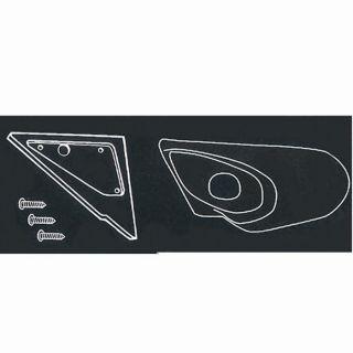 AS Design Platine de Rétroviseur pour Fiat Punto (   Achat / Vente