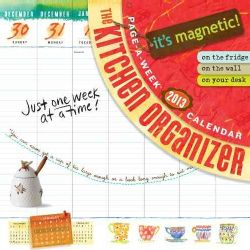 The Kitchen Organizer Page a week 2013 Calendar (Calendar)