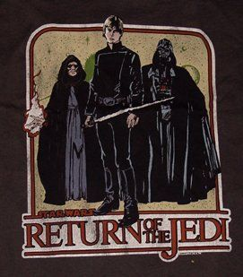 Star Wars Return of The Jedi Shirt Clothing