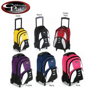 CalPak Free Zone 18 inch Rolling Backpack