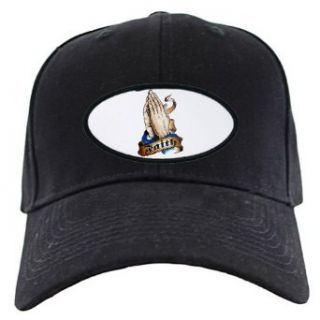 Artsmith, Inc. Black Cap (Hat) Faith Religious Praying
