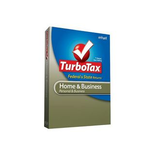 TurboTax Home & Business Federal + State 2009 + Efile