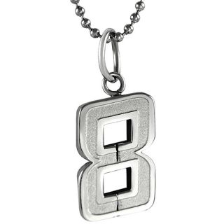 Stainless Steel Number 8 Necklace