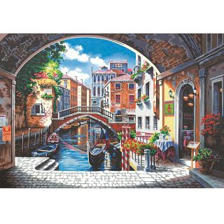 Archway to Venice 20x14 inch Paint by Number Kit