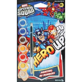 Marvel Mini Paint By Number Super Hero Squad 2 Kit
