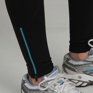 Calvin Klein Performance Womens Zipper Detail Legging