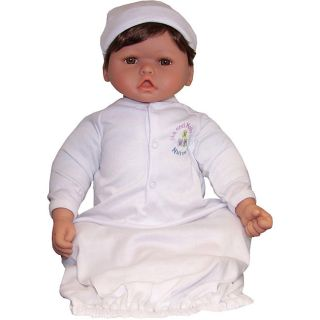 Me and Molly P. 20 inch Medium Brown/ Brown Eyes Nursery Baby Doll