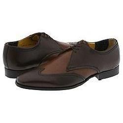 Florsheim Arno Brown/Tan Leather Oxfords   Size 9.