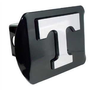 Tennessee Volunteers Black Metal Trailer Hitch Cover with