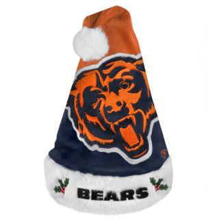 Chicago Bears 2011 Colorblock Runoff Logo Santa Hat