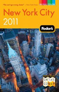 Fodor`s 2011 New York City (Paperback)