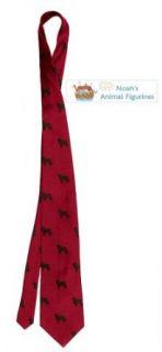 Newfoundland Tie (Mens Dog Breed Neck Tie) Clothing