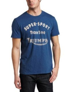 Lucky Brand Mens Triumph Super Sport Graphic Tee Clothing