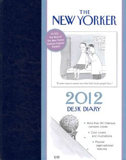 New Yorker Desk Diary 2012 Calendar (Mixed media product)