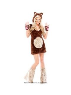 Sexy Womens Teddy Bear Costume Clothing