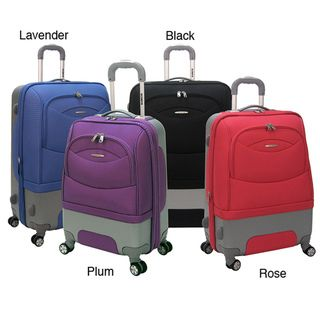 Olympia Pioneer 22 inch Hybrid Carry on 8 wheel Spinner Upright
