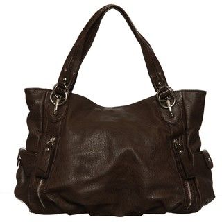 Emperia Faux Leather Hobo Bag