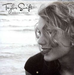 Taylor Swift Faces 2013 Calendar (Calendar)